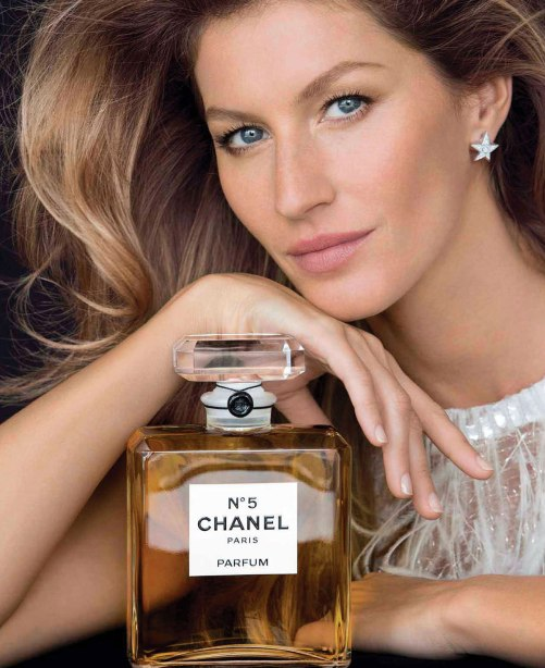 GISELE BUNDCHEN - Chanel No. 5 Promos
